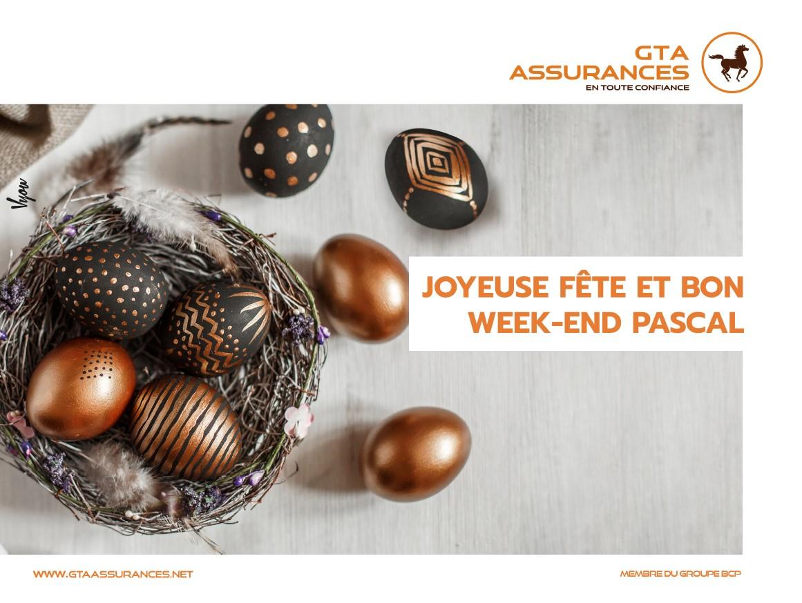 Joyeuse fête et bon week-end Pascal